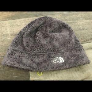 The North Face fleece beanie hat cap -OS Gray